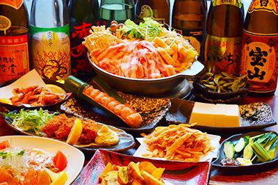 【松】闇の味噌ちゃんこ鍋コース お一人様3,500円(税込)