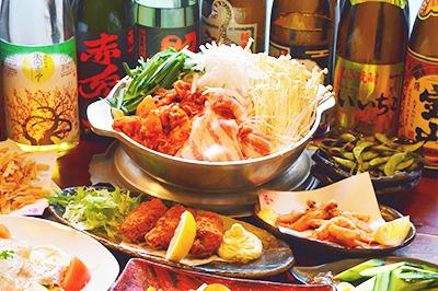 【竹】地獄の豚キムチチゲ鍋コース お一人様3,300円(税込)