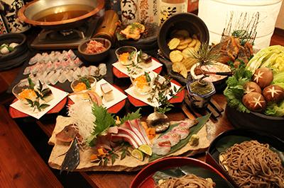 【NEW】桜鯛と桜海老の花咲きしゃぶコース お一人様3,900円(税込)