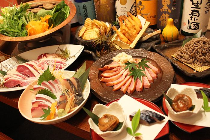 京都や地元の食材で味わう!「ブランド京鴨」のしゃぶしゃぶ鍋コース お一人様3,900円(税込)