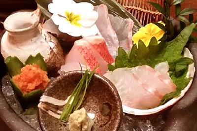 豪華に高級魚を堪能!「冬キンメ鯛」のフルコース お一人様5,500円(税込)