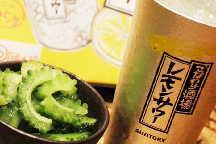 こだわり酒場のレモンサワー 380円+税 専用のタンブラーでキンキンに冷えたこだわり酒場のレモンサワー! 農家さんの美味しいお野菜の小鉢と相性抜群です!