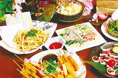 冬の彩宴会アラカルトコース お一人様2,500円(税込)