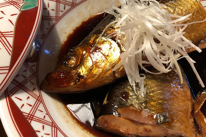ニシンの煮つけ 780円 脂の乗った旬のニシンを甘辛く炊きました。