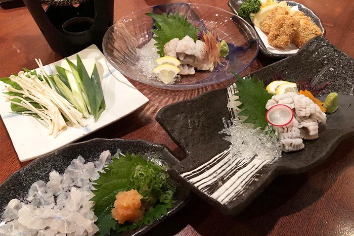 新鮮なお魚をまずはお造りで! 盛合せ 1280円+税~