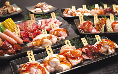 食べ放題2,780円コース お一人様2,780円(税抜き)