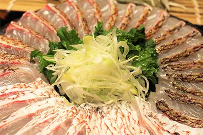 桜鯛のしゃぶしゃぶ鍋コース