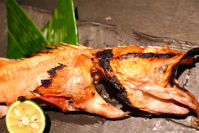 キンキの塩焼き 980円+税 白身魚の中では最上級の高級魚!数量限定です!